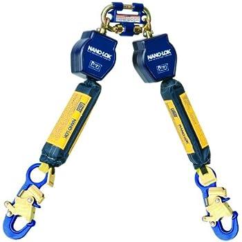 3M DBI-SALA Nano-Lok Edge 3500228 SRL, 9-' Double-Leg, Leading and Sharp Edge Wrap Bax Hook ...