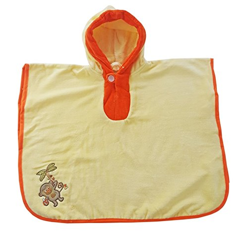 dler Bath Poncho Towel Zoo ()