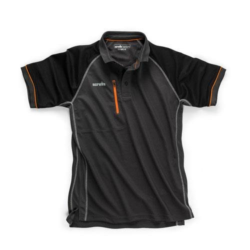 Scruffs T54669 Trade Active Polo Graphite Sz XL