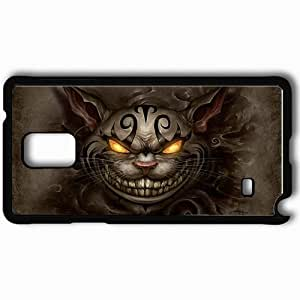 taoyix diy Personalized Samsung Note 4 Cell phone Case/Cover Skin Alice Madness Returns Black