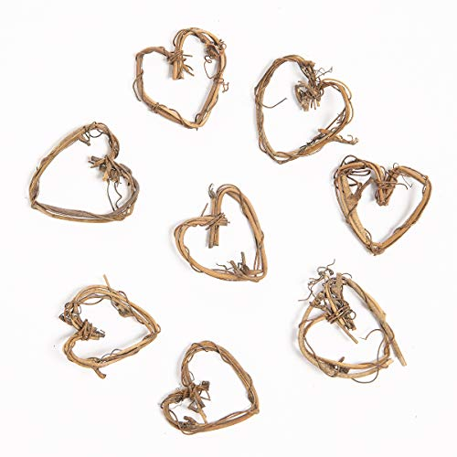 - Darice 2825-15 Bulk Buy: DIY Crafts Mini Grapevine Heart, 1