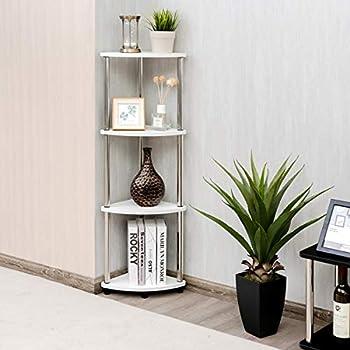 Amazon.com: Convenience Concepts - Estante de esquina de ...