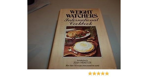 Weight Watchers International Cookbook Jean Nidetch 9780453010047