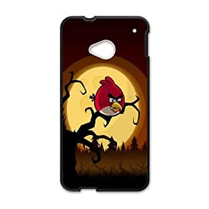 Angry Birds HTC One M7 Cell Phone Case Black 8You010037