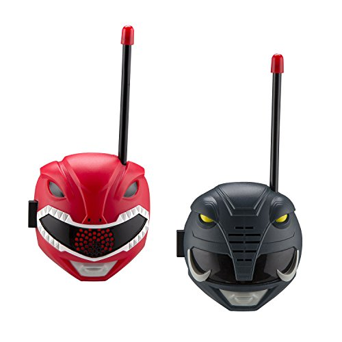 Power Rangers Walkie Talkies for Kids Static Free Extended Range Kid Friendly Easy to Use 2 Way Walkie Talkies -