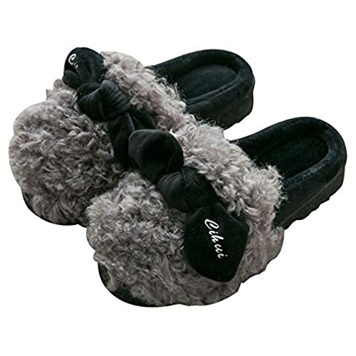 new Womens Cute Warm Outdoor Slippers Indoor Home Cozy Fuzzy Slipper for sale