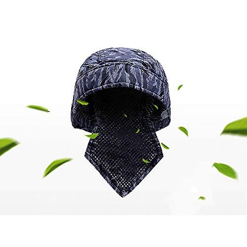 ZPL Soldador de Soldadura Sombrero de protección Gorro Bufanda Soldador Retardante de Llama Algodón: Amazon.es: Hogar