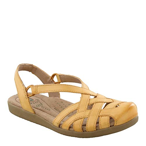 Earth Origins Nellie Narro Women's Amber Yellow 8 Narrow US (Earth Shoes Clearance)