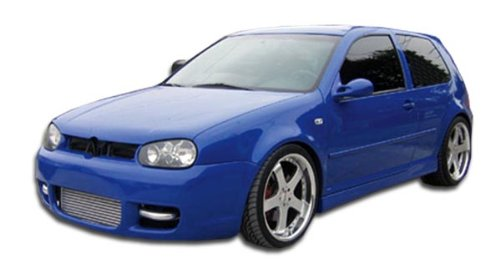 1999-2005 Volkswagen Golf GTI 2DR Couture R32 Side Skirts Rocker Panels - 2 Piece