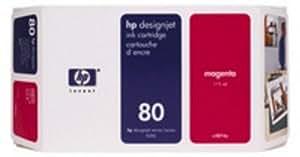 HP C4874A cartucho de tinta - Cartucho de tinta para impresoras (Magenta, 175 ml, HP Designjet 1000, -40-60 °C, 450g, 114 x 56 x 226 mm)
