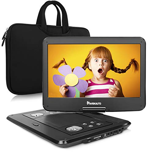 "NAVISKAUTO 16"" Portable DVD Player with 14"" High Resolution"