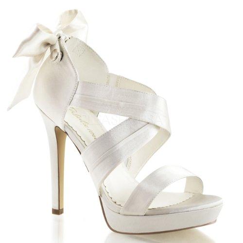 Fabulicious Women's Lumina29 White Fashion Pumps 9 M