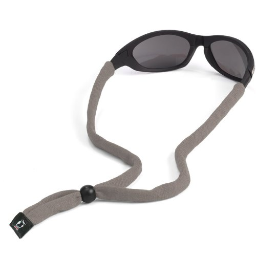 Chums Original Cotton Standard End Eyewear Retainer, Gray