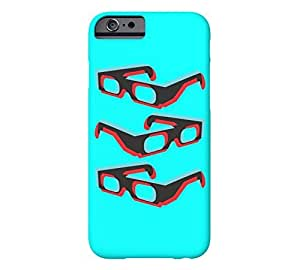 3 Dimensional Glasses iPhone 6 Aqua Barely There Phone Case - Design By Humans