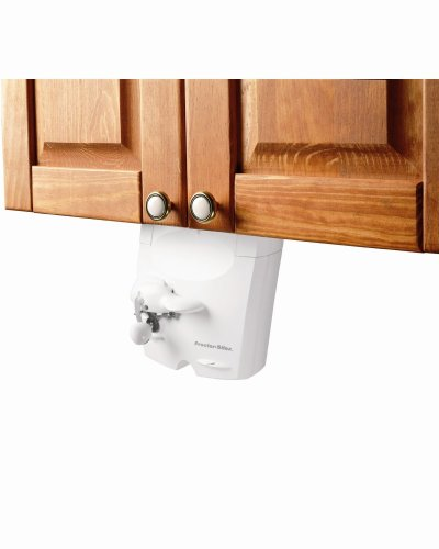 Proctor Silex 75400 PowerOpener Under-The-Cabinet Can Opener , White