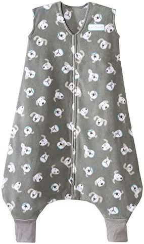 Halo Early Walker SleepSack Wearable Blanket Microfleece Pooch, MED - Grey