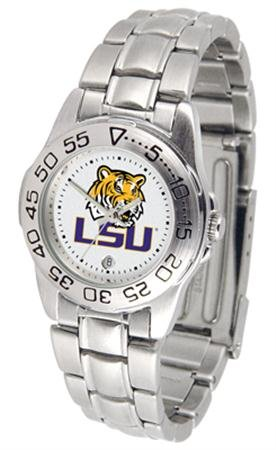 (LSU Tigers Sport Steel Women's Watch)