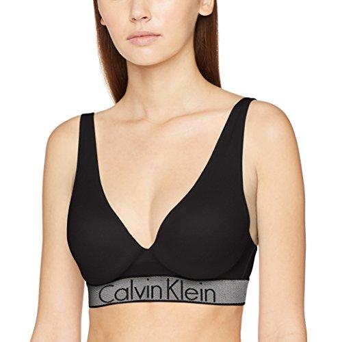 black 001 Plunge Calvin Klein Femme Push gorge Soutien Noir up AqaTqvwpn