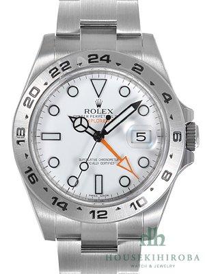 quality design cd12b 3b7ac Amazon | ロレックス ROLEX エクスプローラーII 216570 ホワイト ...