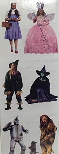 Wizard of Oz Characters Stickers]()