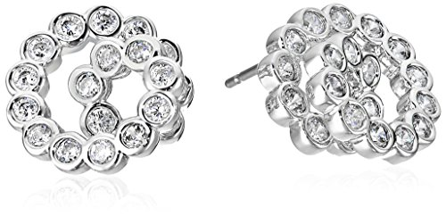kate spade new york Glitz and Glam Spiral Silver Stud (Glam Stud)