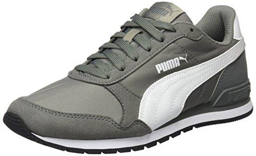 Puma Unisex-erwachsene St Runner V2 Nl Cross-trainer Grau (rock Ridge-puma Bianco-castor Grey)