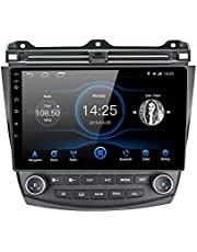 Lexxson Android 8.1 Car Radio Stereo 10.1 inch Capacitive Touch Screen High Definition GPS Navigation Bluetooth USB Player 2G DDR3 + 32G NAND Memory Flash for Honda Accord 7th 2003 2004 2005 2006 2007