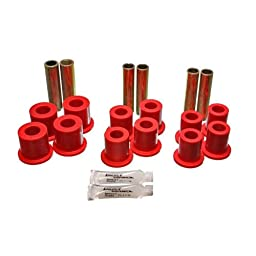 Energy Suspension 4.2120R Front Spring Bushing Set for Ford 4WD