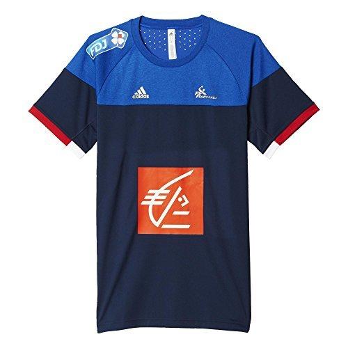TALLA XS. adidas FFHB Francia alas Mangas Camiseta