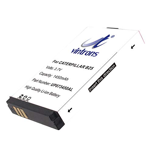 VINTRONS, CAT UP073450AL Battery for CAT B25,