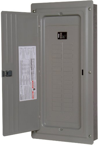 (Siemens S3040B1125 125-Amp 30 Space 40 Circuit Indoor Main Lug Load Center with Aluminum Bus Bars)