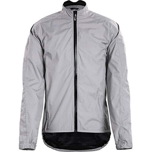 SUGOi Zap Bike Jacket - Men's Light Grey Zap, L - Bike Zap Jacket