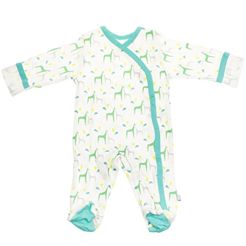 Organic Cotton Footie Pajamas - 4
