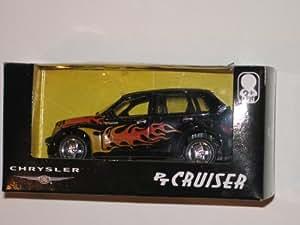 Black Chrysler PT Cruiser 1/18 Die-Cast Model