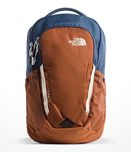 The North Face Unisex Vault Backpack Shady Blue/Gingerbread Brown One Size ()