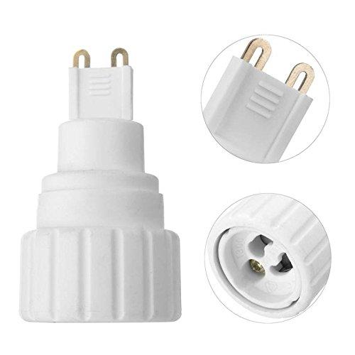 MASUNN G9 Zu Gu10 Led Glühbirne Basis Schraube Adapter Halter Sockel Konverter 220V 5A