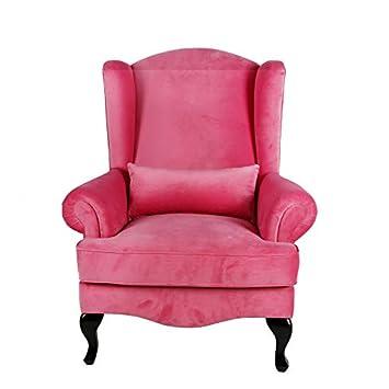 Muebles Marieta Sillón de Terciopelo Tiffany Pink: Amazon.es ...