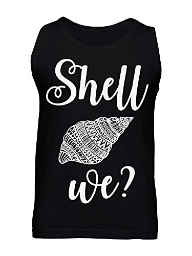 Shell We? Nice Ornamented Shell Men's Tank Top