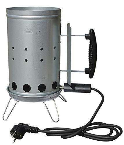 Dangrill Ciminiera di Accensione Elettrica 17 x 27 cm per Barbecue a Carbone Accensione in Soli 12/15 Minuti 87258