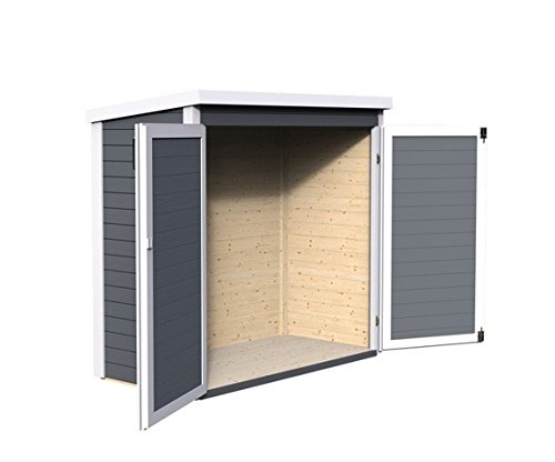 Bosmere A070 Baltic Painted Double Door Storage Shed