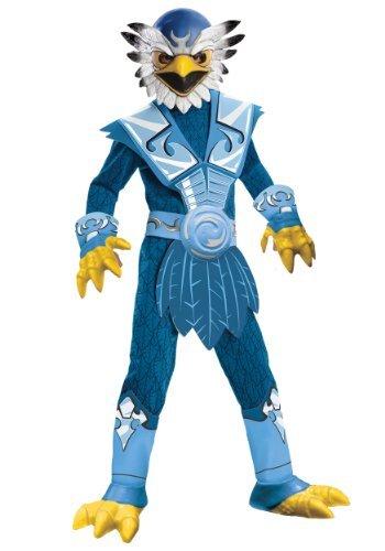 Skylanders Crusher Costume (Deluxe Skylanders Child Costume Deluxe Jet-Vac -)