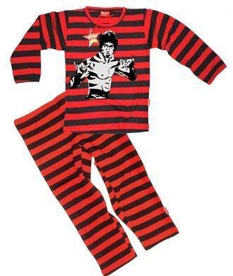 Póster mural de Bruce Lee de Luca Johnson niños 7 - de tigre en la pijama