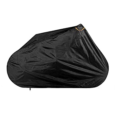 Baleaf 210D Oxford Fabric Heavy Duty Waterproof City Bike Bicycle Cover With Lockhole Black