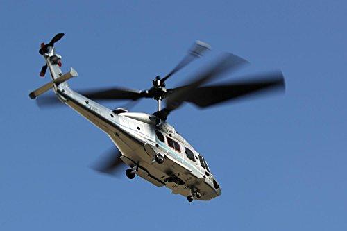 3.5 canali Ready To Fly colore: Argento Elicottero radiocomandato EC 175 modulo coassiale 2.4 GHz XciteRC 12001000