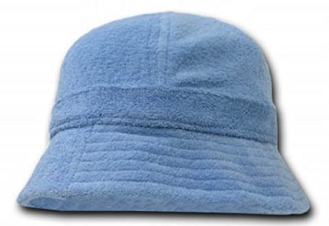 DECKY Terry Bucket Hats (One Size, Sky Blue) - Boonie Hat Terry Hat