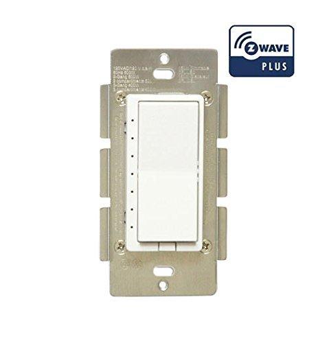 Z Wave Zwp Z Wave Plus In Wall Smart Light Dimmer Switch