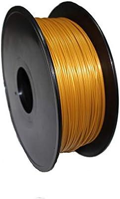 Amazon.com: POLISO 3D, PLA, Gold, Filamento para impresora ...