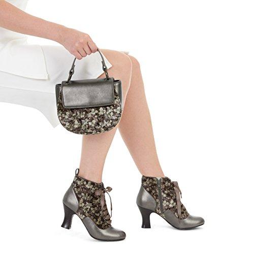 Ruby Shoo Women's Bailey Boots & Matching Acapulco Bag Mink rYBSNmGfN0