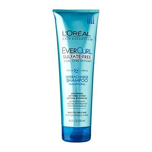 LOreal Paris EverCurl Hydracharge Sulfate-Free Shampoo, 8.5 Fluid Ounce