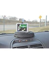 Bracketron ufm-100bl nav-mat GPS Dash Pad de fricción, talla única , Negro